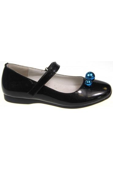 Туфли детские Flois Beautiful, цвет черный, р-р 32-37 FL-M8282 TD