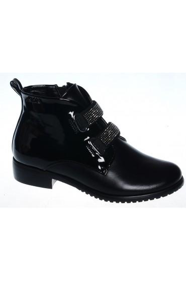 Ботинки детские Flois-Kids, цвет черный, р-р 33-38 FL-S3517 BTB