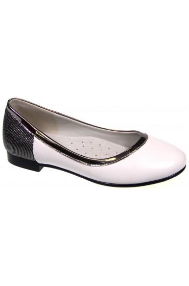 Туфли детские Flois Beautiful, цвет белый, р-р 33-38 FL-S9379 TD