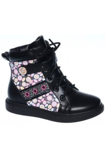 Ботинки детские Flois-Kids, цвет черный, р-р 27-32 FL-W7297 BTB