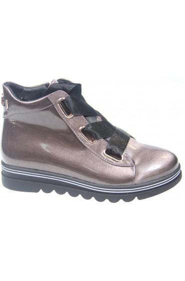 FL-W8383 BTB Ботинки детские KIPPONI, цвет бронзовый, р-р 26-31