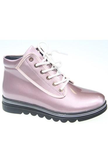 FL-W8385 BTB Ботинки детские KIPPONI, цвет розовый, р-р 26-31
