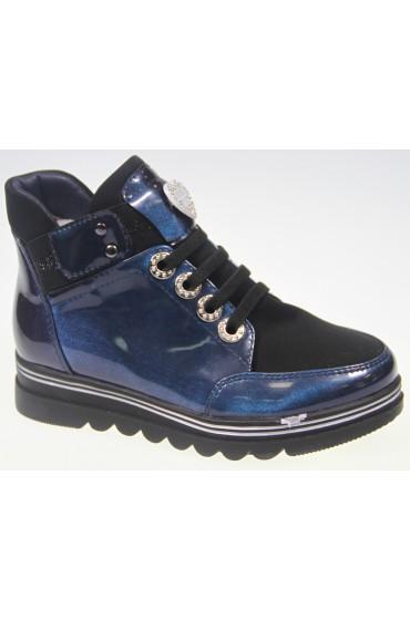 Ботинки детские KIPPONI, цвет синий, р-р 26-31 FL-W8388 BTB