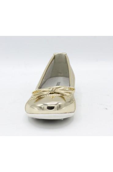 Туфли праздничные Flois-Kids, иск. кожа, цвет золото, р-р 26-31 FL-NY11504 TD