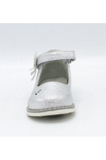 Туфли праздничные Flois-Kids, иск. кожа, цвет серебро, р-р 20-25 FL-NY11513 TD