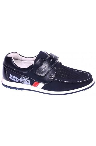 Туфли детские GC Flois , синт. кожа., цвет т.синий, р-р 32-37 FL-K3258 TM