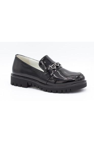 Туфли детские Flois-Kids, иск.кожа, цвет черный, р-р 33-38 FL-M11059 TD