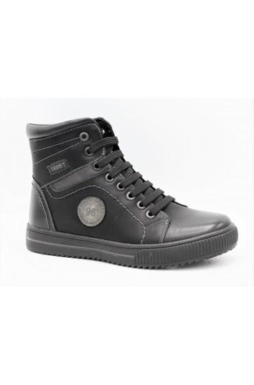 Ботинки детские GC Flois, иск.кожа, увп, цвет черный, р-р 30-35 FL-MT11207 BTB