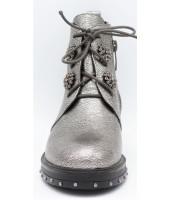 Сапоги детские Flois-Kids, иск.кожа, цвет серебро, р-р 33-38 FL-S14057 SPB