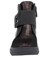 Ботинки детские Flois-Kids, иск.кожа, цвет т.серебряный, р-р 27-32 FL-W13027 BTB