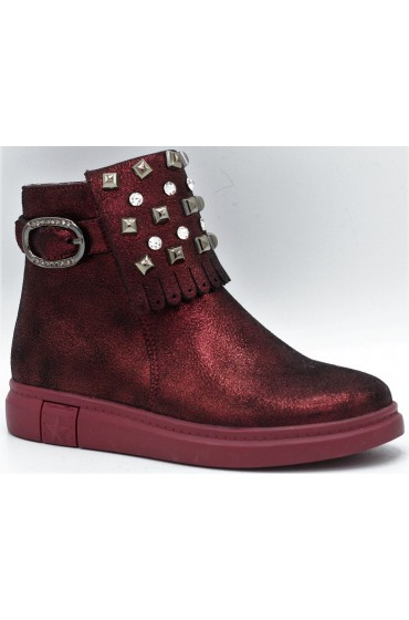 Ботинки детские Flois-Kids, иск.кожа, цвет бордовый, р-р 27-32 FL-W11239 BTB