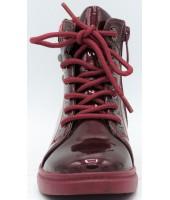 Ботинки детские Flois-Kids, иск.кожа, цвет бордовый, р-р 27-32 FL-W11247 BTB