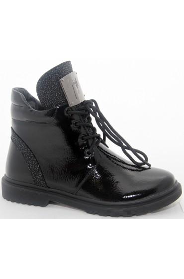 Ботинки детские Flois-Kids, цвет черный, р-р 33-38 FL-W3744 BTB