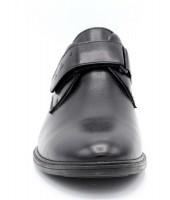 FL-K11089 TM Туфли детские GC Flois, иск.кожа, цвет черный, р-р 30-35