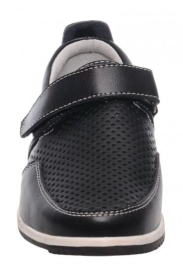 Туфли детские GC Flois , синт. кожа., цвет черный, р-р 32-37 FL-K3255 TM