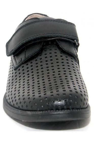 Туфли детские Flois-Kids, иск.кожа, цвет черный, р-р 32-37 FL-K3851 TM