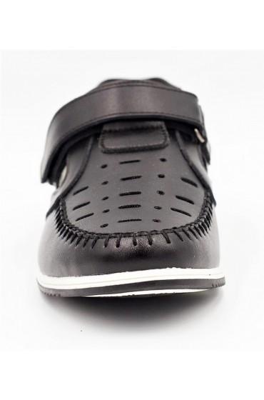 Туфли детские, GC Flois, кожа нат.+ экокожа, цвет черный, р.32-37 FL-K6810 TM
