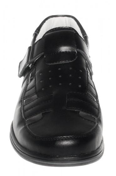 Туфли детские GC Flois, комбинир.кожа, цвет черный, р-р 32-37 FL-K7389 TM