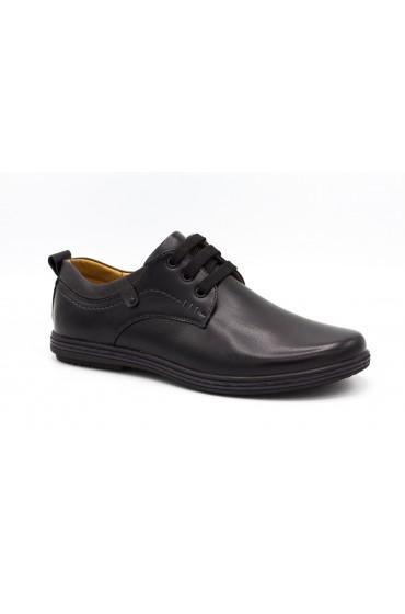 Туфли детские GC Flois, иск.кожа, цвет черный, р-р 36-41 FL-MT11187 TM