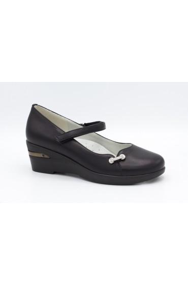 Туфли детские Flois Beautiful, иск.кожа, цвет черный, р-р 33-38 FL-S11150 TD