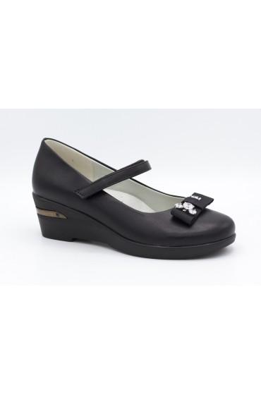 Туфли детские Flois Beautiful, иск.кожа, цвет черный, р-р 33-38 FL-S11130 TD
