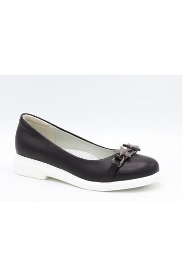 Туфли детские Flois Beautiful, иск.кожа, цвет черный, р-р 33-38 FL-S11147 TD