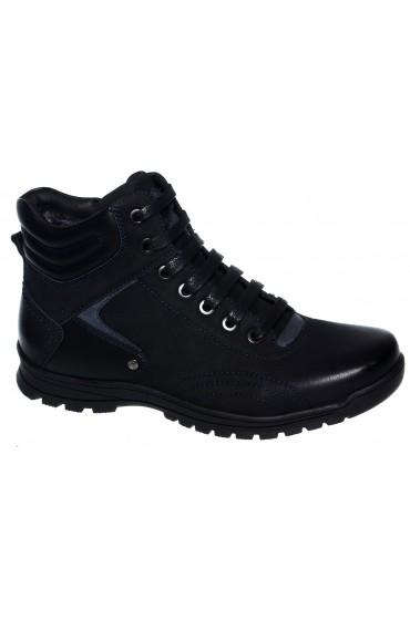 Ботинки детские GC Flois, иск. кожа, шерсть, цвет черный, р-р 36-41 FL-MT7747 BTZ