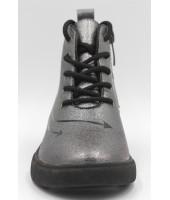 FL-W16979 BTB Ботинки детские Flois-Kids, иск.кожа, цвет серебро, р-р 33-38