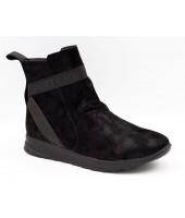 Ботинки детские Flois-Kids, иск.кожа, цвет черный, р-р 33-38 FL-W11228 BTB