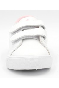 FL-RY16414 PBT Полуботинки детские FESS, иск.кожа, цвет бело-розовый, р-р 26-31