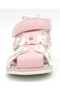 FL-VM15008 BS Босоножки детские Flois-Kids, иск.кожа, цвет св.розовый, р-р 21-26