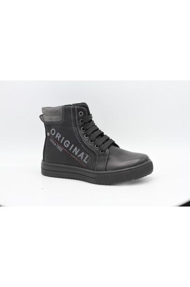 Ботинки детские GC Flois, иск.кожа, увп, цвет черный, р-р 36-41 FL-MT11198 BTB