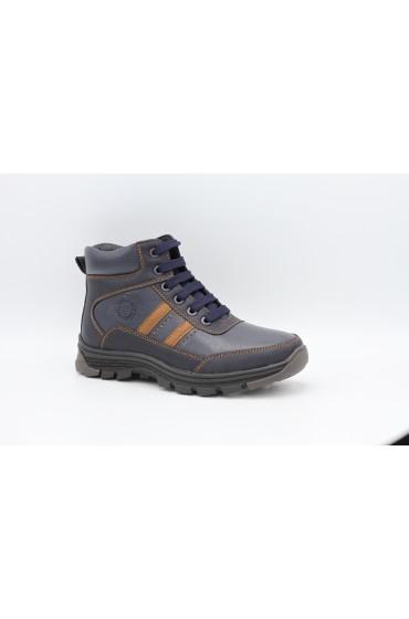 Ботинки детские GC Flois, иск.кожа, увп, цвет т.коричневый, р-р 31-36 FL-MT11205 BTB