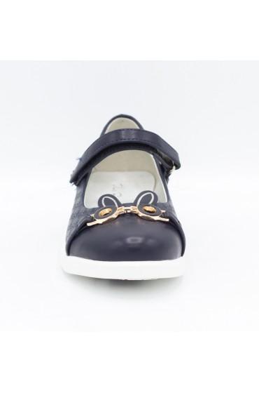 Туфли детские Flois Beautiful, иск.кожа, цвет т.синий, р-р 27-32 FL-S11168 TD