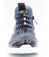 FL-W16963 BTB Ботинки детские Flois-Kids, иск.кожа, цвет синий, р-р 33-38