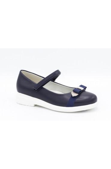 Туфли детские Flois Beautiful, иск.кожа, цвет т.синий, р-р 27-32 FL-S11179 TD
