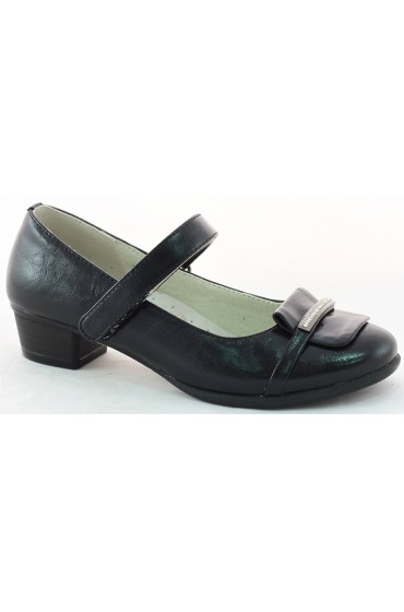 Туфли детские Flois-Kids, цвет черный, р.33-38 (7 пар) FL-M00885 TD