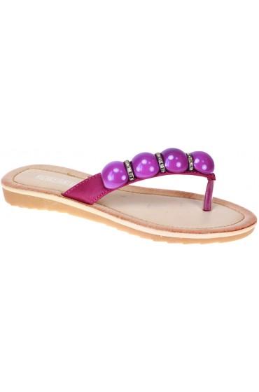 FL-00321BS Босоножки детские Flois beautifull, цвет фиолетовый, р-р 30-37