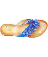 Босоножки детские Flois beautiful, цвет синий, р-р 32-37 FL-00335BS